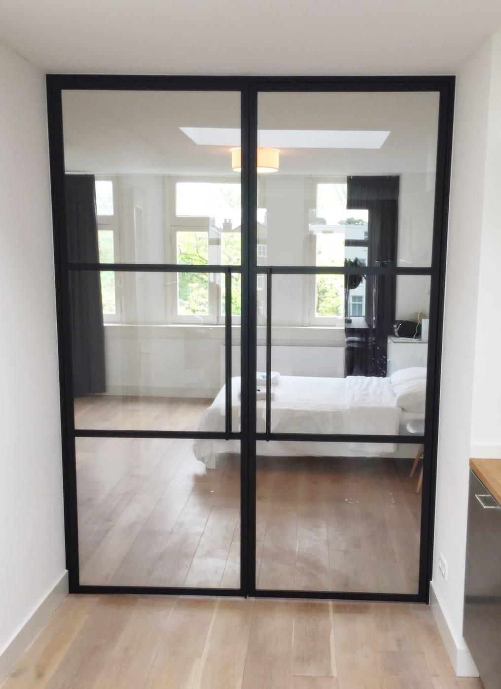 Doppelflügeltür mit glas im Wohnung