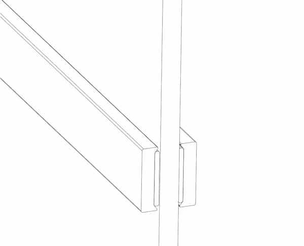 Einteilung der Flachen mit Stahl Streben