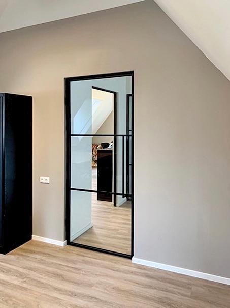 Stahltür mit einem schlanken Design zu einem guten Preis